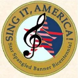 sing it america logo white clean