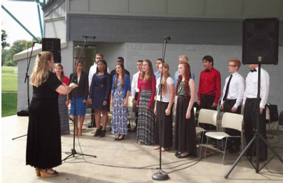 Tennessee Choir Sept 14 2014 at Oak Ridge