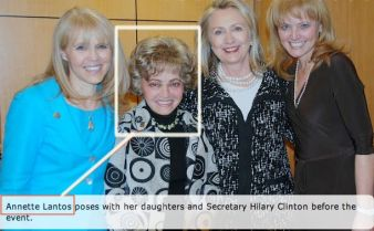 annette lantos and hillary1